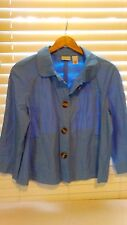 Kim Rogers Blue Size Large Very Cute Jacket New with Tags