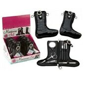 Pocket size Pro Steel Nail Clipper Manicure Cuticle Set Pedicure Case Kit Gift
