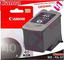 Ink Black Canon Pg 40 Original Cartridge Black Printer PG-40 Energy Saving XL