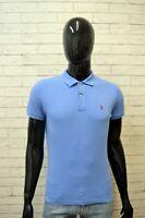 Maglia Uomo RALPH LAUREN SKINNY Taglia XS Polo Maglietta Manica Corta Shirt Men