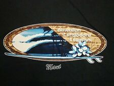 Hawaiian Longboard Legends Maui Hawaii Skateboards Skating T Shirt L