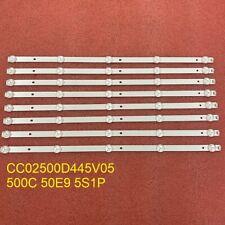 8pcs LED strip for TH-LD50WE9 XYD50BA01 LE-8815A LE-8822 LD-50FHD CC02500D445V05