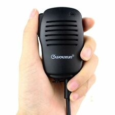 Original WOUXUN KG-UVD1P Speaker PTT Mic Mini Handheld Microphone for PUXING 777