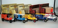 FIVE MATCHBOX YESTERYEAR Y-12 MODEL T VANS to include UNLISTED COLMAN'S Near MIB