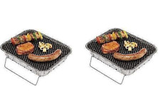 2 X Instant BBQ for Campaign and Outdoor Cooking (disposable Twin Pack)