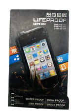 """Lifeproof Waterproof Case For for 4.0"""" iPhone 4s & iPhone Black New(Other)"""