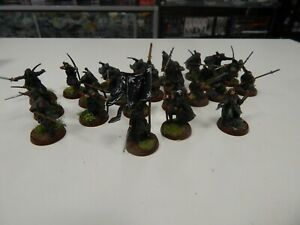 The Lord of the Rings Rangers painted 24 figures