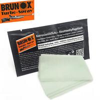 Brunox Turbo Spray Rust Protection Cotton Cloth Wipes Gun Care/Maintenence