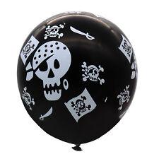 10pcs Latex Balloons Pirate Skull And Crossbones Boys Party Wedding Decoration
