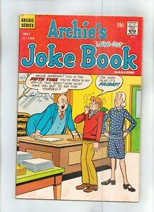 "ARCHIE'S ""LAUGH-OUT"" JOKE BOOK MAGAZINE No 148 with VERONICA and BETTY"