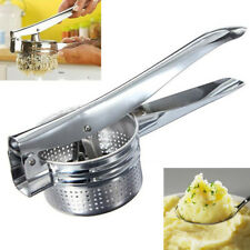 Home Stainless Potato Ricer Masher Fruit Vegetable Press Maker Juicer Kitchen AU