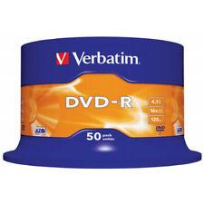 DVD-R VERBATIM 16X 4.7GB CONFEZIONE da 50 pezzi 43548