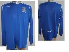 2008-09 FC Everton L/S Home Football Shirt Soccer excellent Jersey size XL