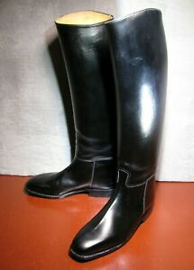 """Mens "" Cavallo ""   Leather  Riding Boots sz 11   "" 41 cm Calf """