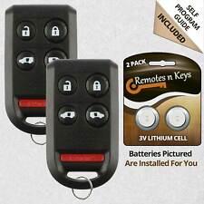 2 For 2005 2006 2007 2008 2009 2010 Honda Odyssey - Keyless Van Remote Key Fob