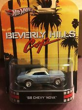 Hotwheels  RETRO ENTERTAINMENT  Beverly Hills Cop.  1968 Chevy Nova
