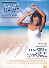 Luv Me, Luv Me - Shaggy Featuring Janet - 1998 Sheet Music