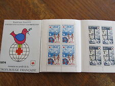 1974 carnet croix rouge NEUF LES 8 TIMBRES