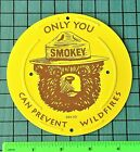 Park Forest Service SMOKEY BEAR ONLY YOU CAN PREVENT WILDFIRES Metal Sign