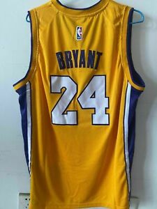 LA Lakers Kobe Bryant #24 nba Basketball Jersey