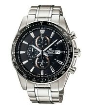 Casio Edifice EF-547D-1A1 Men's Chronograph Stainless Steel Band Analog Watch