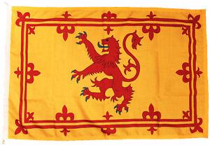 Royal Banner of Scotland Lion Rampant Scottish flag MoD approved Dye sublimated