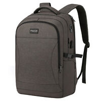 Business Travel Anti-Theft Laptop Backpack 15.6-17.3 inch Bag USB Charge Port