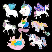 Cartoon Rainbow Brooch Pins Badge Costume Lapel Accessory Alloy Jewelry Supply