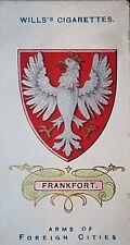 Frankfurt  Hesse  Germany City Coat of Arms  Vintage Card  # VGC