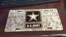 Licensed Plate, U.S. ARMY STAR Multicam