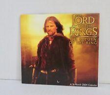 Orlando Bloom Legolas Lotr 2004 Calendar Aragorn Gandalf