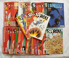 Lot BD - 52 Magazine Revue Spirou n° 3064 à 3116 Année 1997 COMPLET + SUPPLEMENT