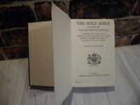The Holy Bible: Containing The Old/New Testaments,Eyre & Spottiswoode - TBLO