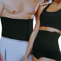 """Adjustable Tummy Trimmer Neoprene Wrap Slimming Body Fitness Waist Belt 8"""" HC693"""
