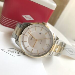 Fossil Watch * FS5426 Mathis 2 Tone Gold & Silver Stainless Steel Men COD PayPal