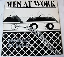 MEN AT WORK (LP 33T)  BUSINESS AS USUAL