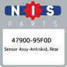 47900-95F0D Nissan Sensor assy-antiskid, rear 4790095F0D, New Genuine OEM Part