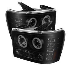 Spyder Auto GMC Sierra 1500/2500/3500 LED Halo Projector Headlight 2007-2013