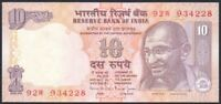 1996 India 10 Rupees Banknote * 92W 934228 * UNC * P-89e *
