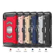 Magnet Armor Case Shockproof Cover w/ Back Card Slot For iPhone 6S 6 7 8 Plus X