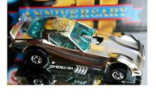 1988 Hot Wheels Pontiac Firebird Funny Car 20th Anniversary Silver Chrome