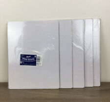 Brand New Lot Of 5 Pacon White Dry Erase Baords One Sided 9x12 Free Shipping