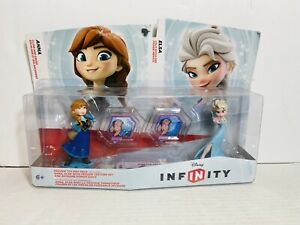Frozen Disney Infinity Figures Anna & Elsa Playset New