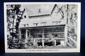 Swastika, Ontario - Kenogami Lake - The Log Cabin