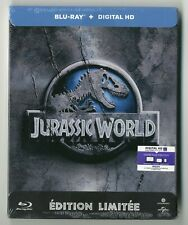 COFFRET STEELBOOK BLU-RAY ★ JURASSIC WORLD ★ NEUF SOUS CELLO