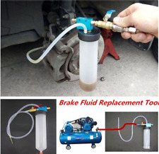 Car Brake Fluid Replacing Tool Pump Oil Bleeder Exchange Air Empty Equipment Kit