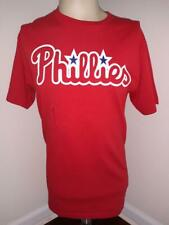 PHILADELPHIA PHILLIES Medium Baseball Adult Tee Shirt MLB Free Shipping (M)