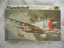 VINTAGE 1969 PRE BARCODE REVELL P-47 D COMPLETE ALL PARTS ON TREES UNSEALED 1/32