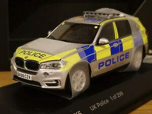 PARAGON JADI METROPOLITAN POLICE LONDON BMW X5 ARV CAR MODEL 91203 1:43