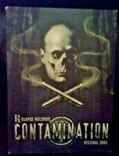 RELAPSE RECORDS CONTAMINATION FESTIVAL 2003 GENUINE RELEASE 2DISC DVD RARE MUSIC